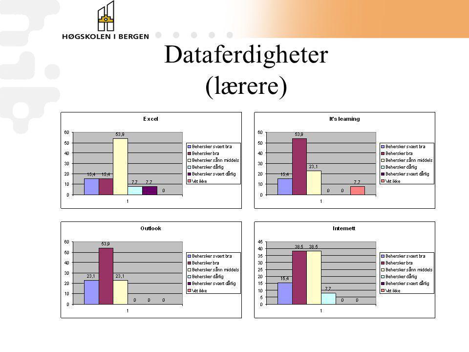 Dataferdigheter (lærere)