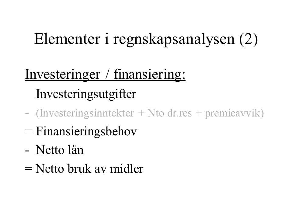 Elementer i regnskapsanalysen (2)