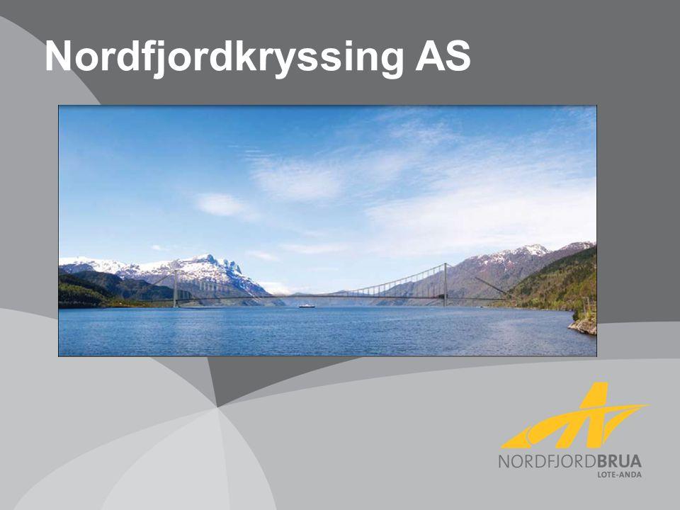Nordfjordkryssing AS Nordfjordkryssing er et selskap som jobber for at det skal komme en bro ved Lote/anda innen 2020.