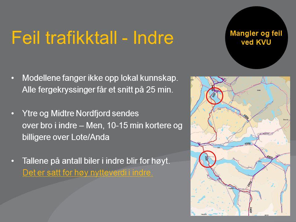 Feil trafikktall - Indre