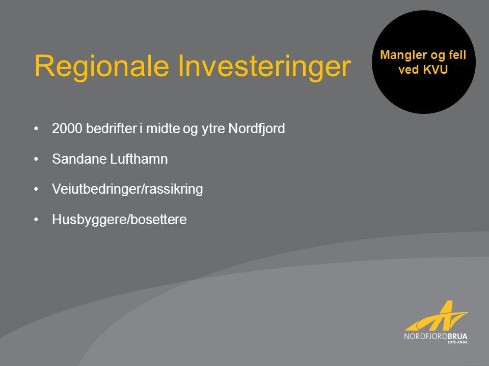 Regionale Investeringer