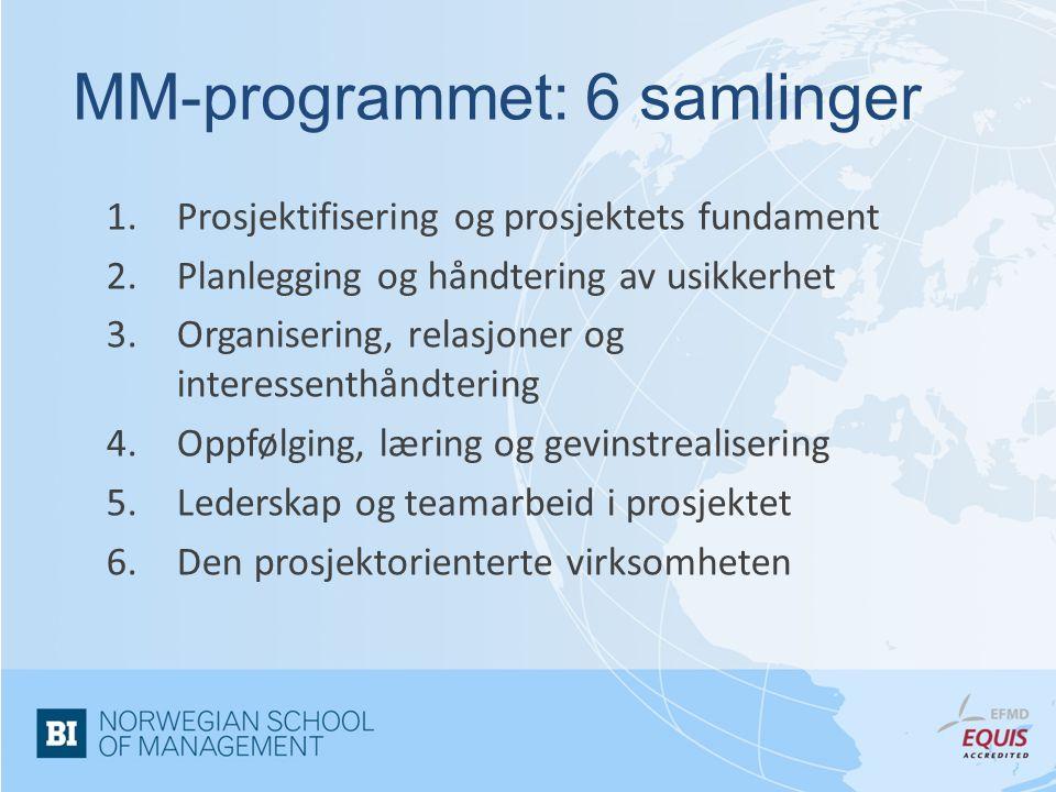 MM-programmet: 6 samlinger