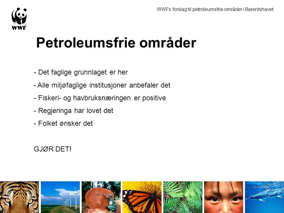 Petroleumsfrie områder