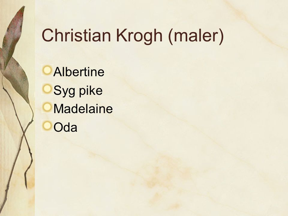 Christian Krogh (maler)