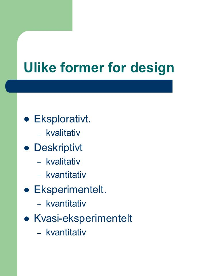 Ulike former for design