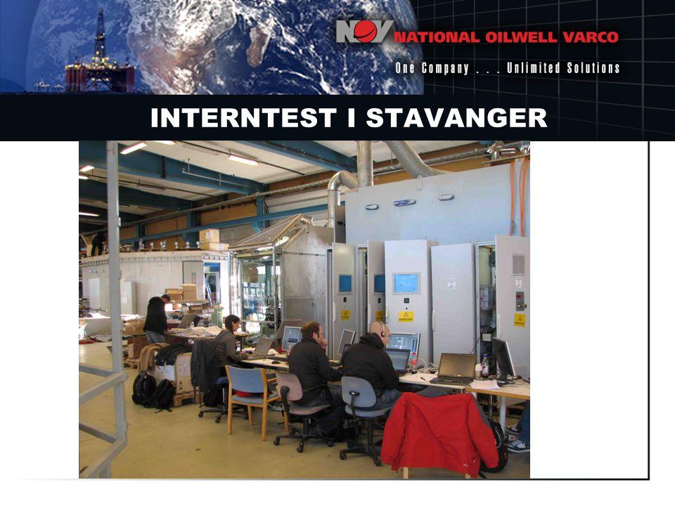 INTERNTEST I STAVANGER