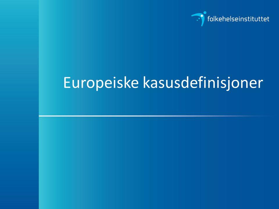 Europeiske kasusdefinisjoner