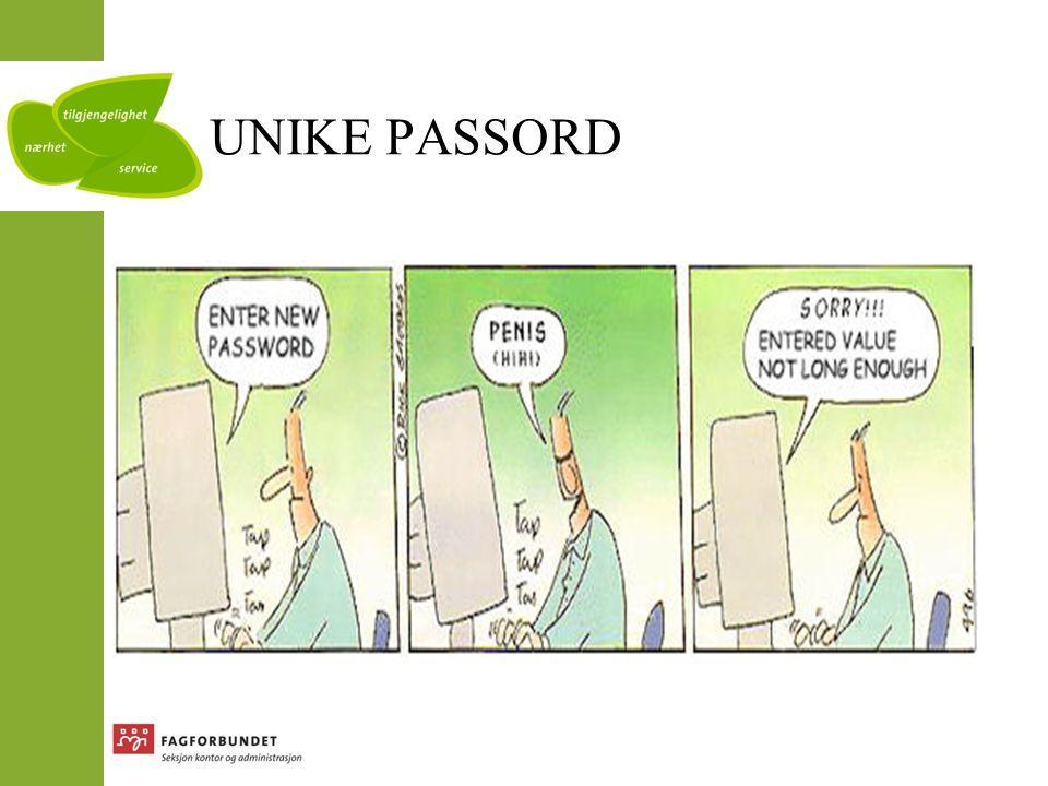UNIKE PASSORD