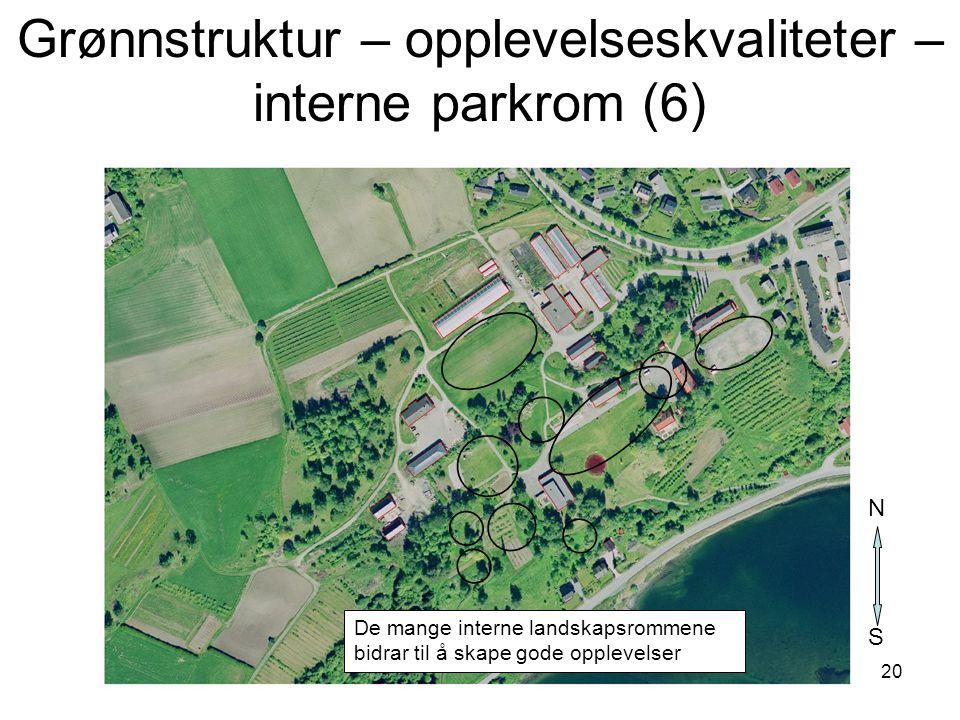 Grønnstruktur – opplevelseskvaliteter – interne parkrom (6)