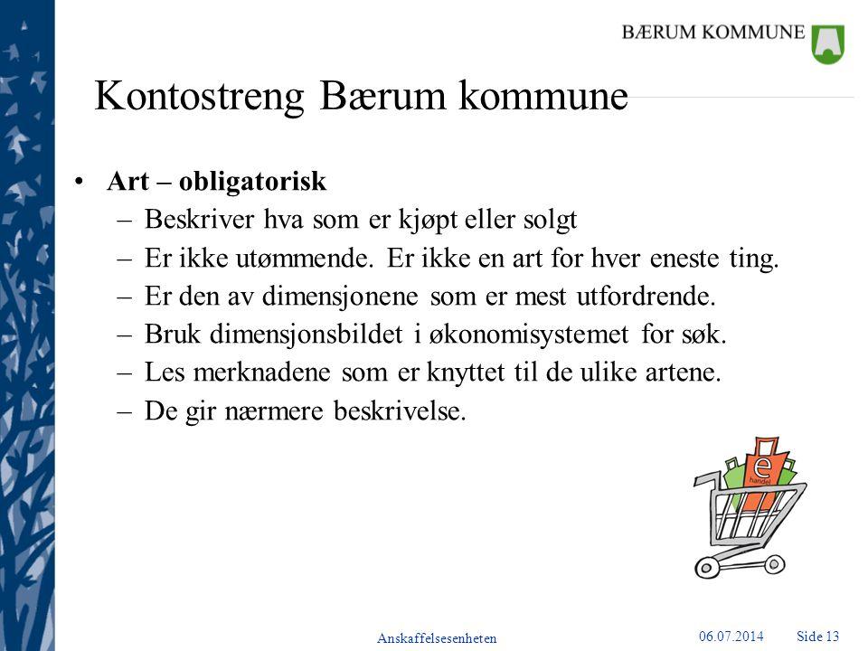 Kontostreng Bærum kommune