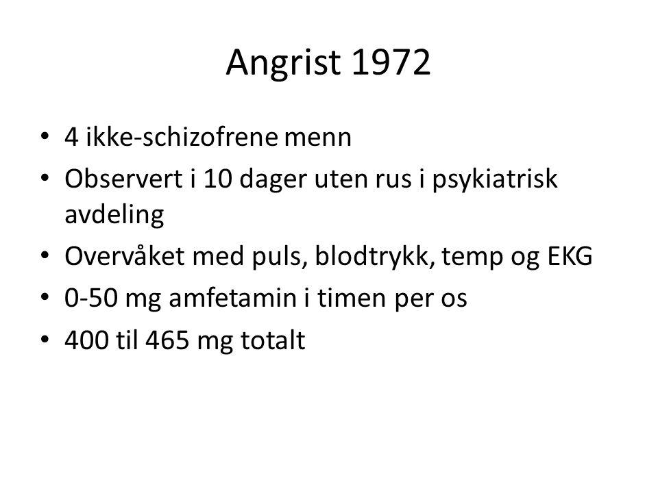 Angrist 1972 4 ikke-schizofrene menn
