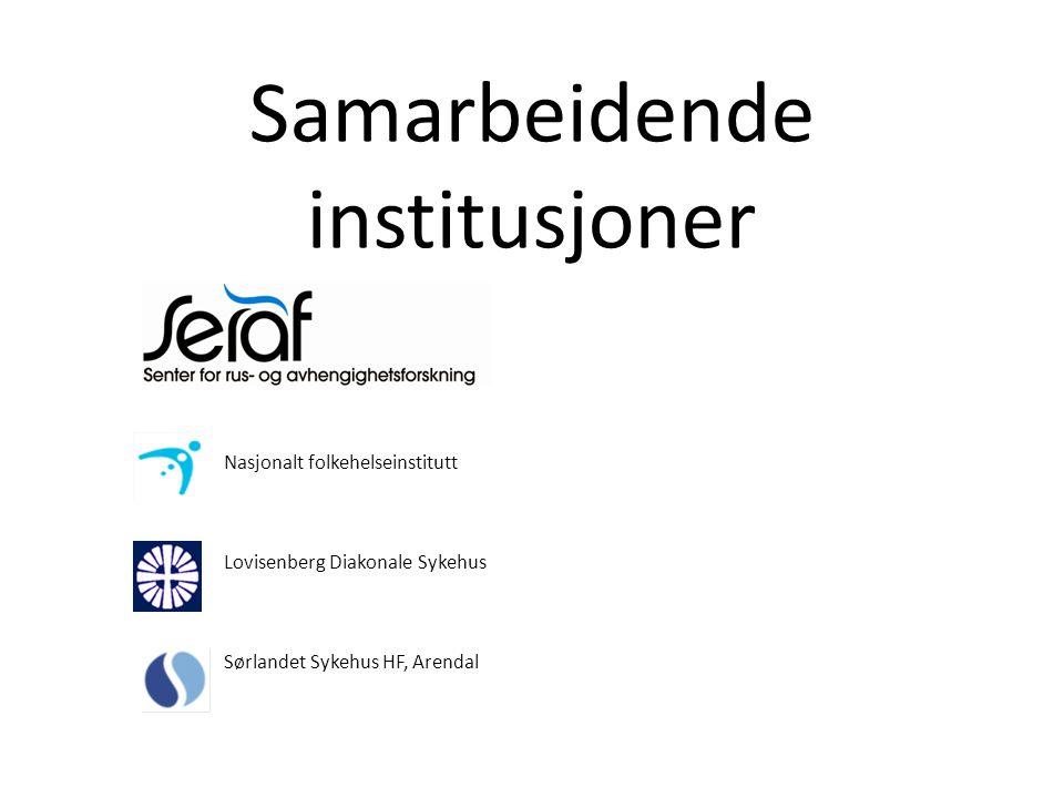 Samarbeidende institusjoner