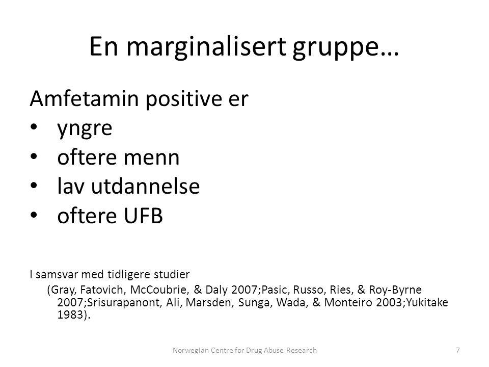 En marginalisert gruppe…