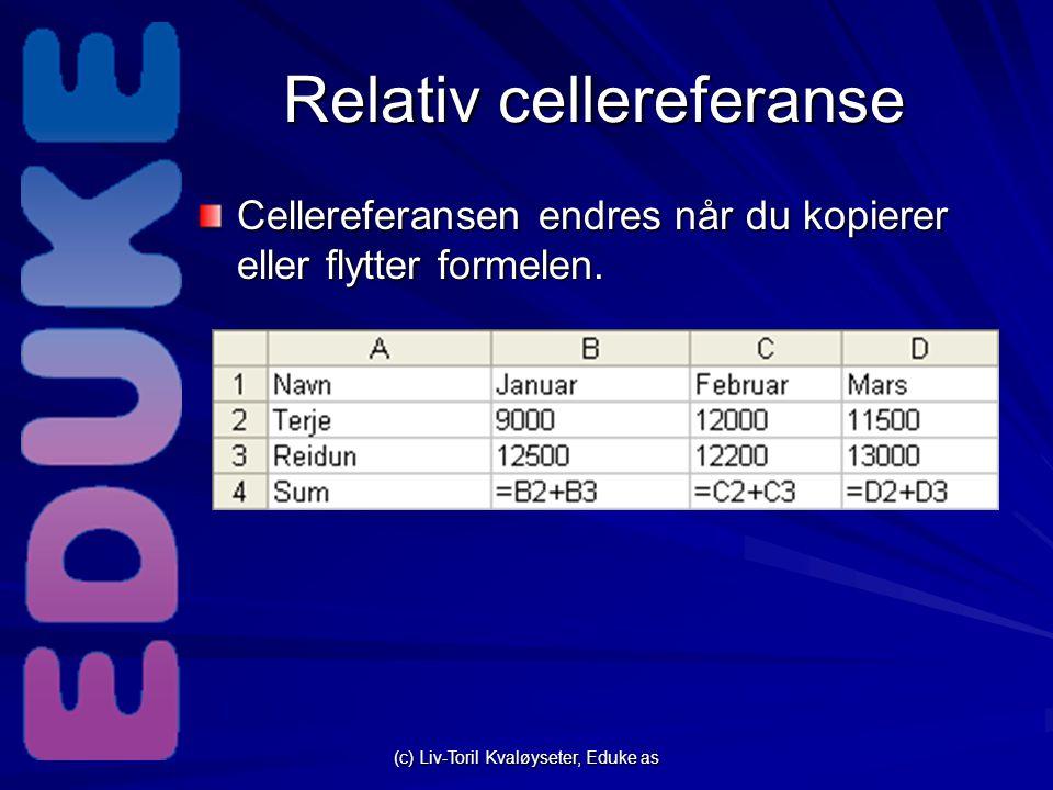 Relativ cellereferanse