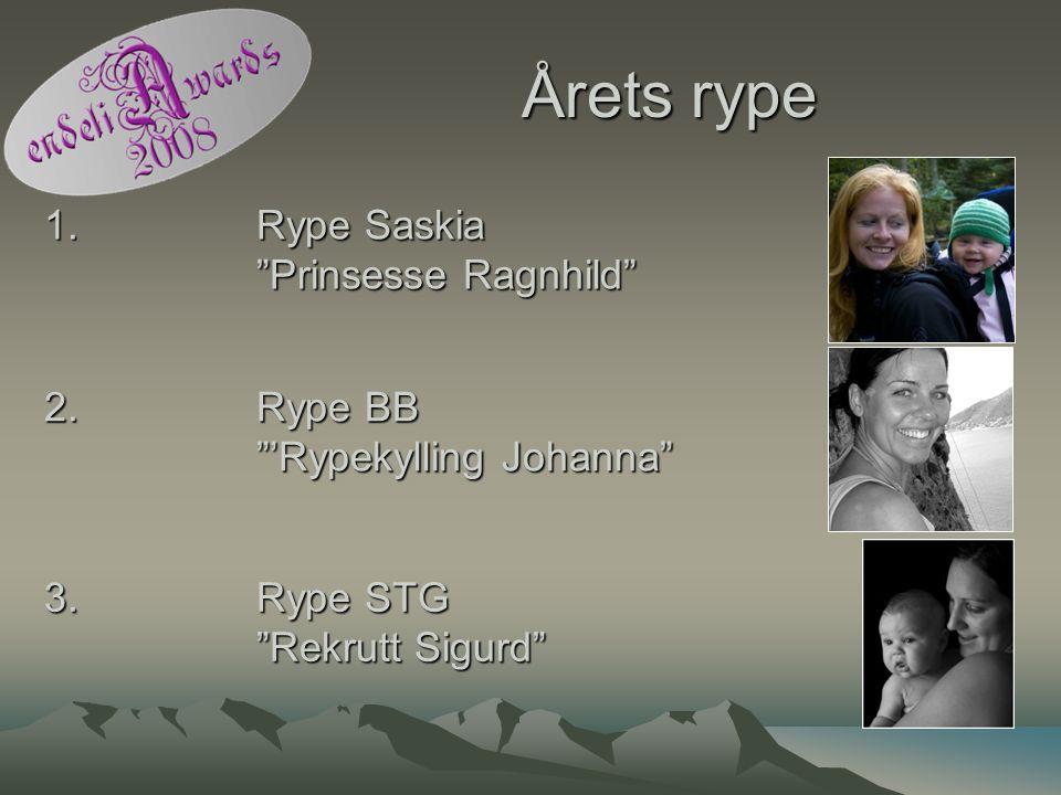 Årets rype 1. Rype Saskia Prinsesse Ragnhild
