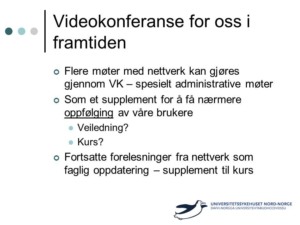 Videokonferanse for oss i framtiden