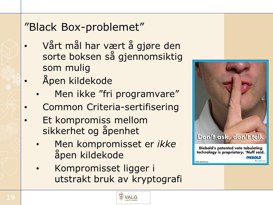 Black Box-problemet