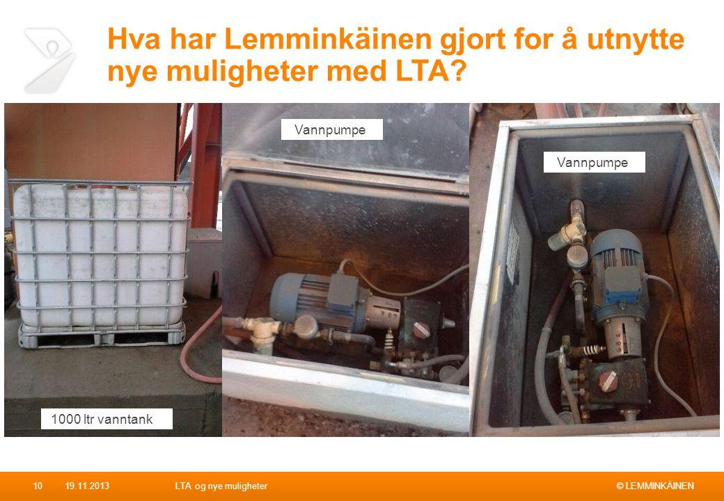 Hva har Lemminkäinen gjort for å utnytte nye muligheter med LTA