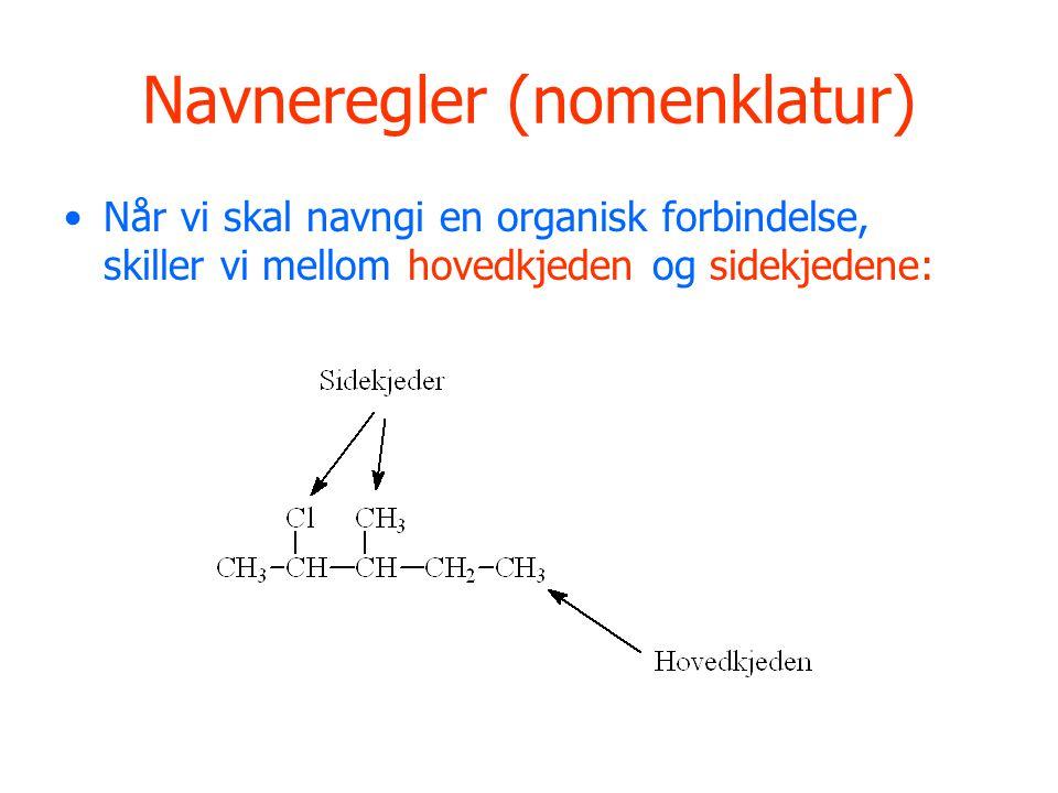 Navneregler (nomenklatur)