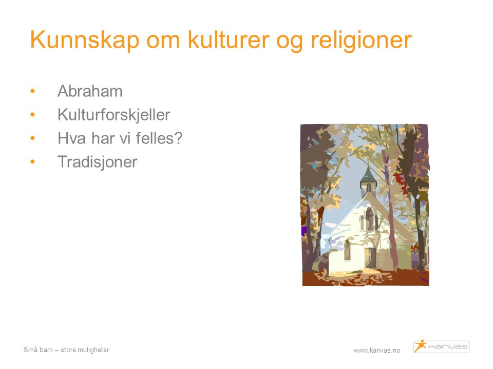 Kunnskap om kulturer og religioner