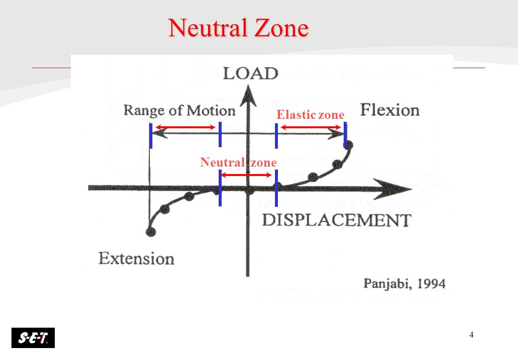 Neutral Zone Elastic zone Neutral zone