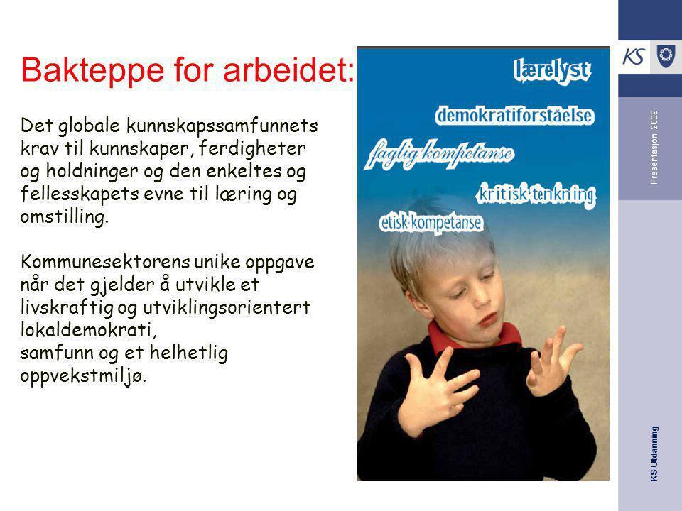 Bakteppe for arbeidet: