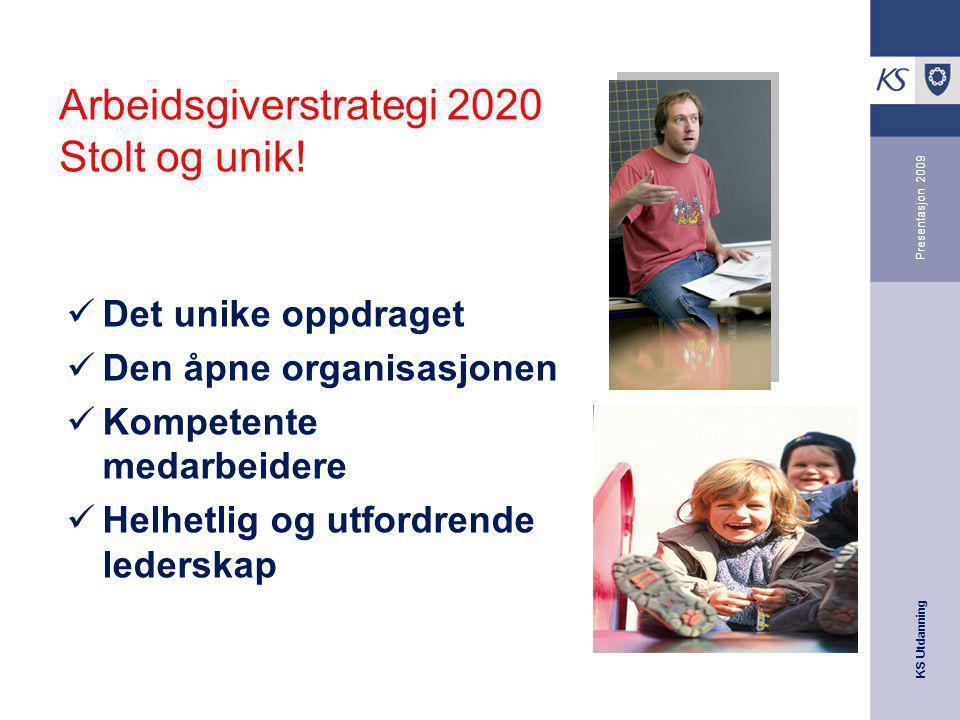 Arbeidsgiverstrategi 2020 Stolt og unik!