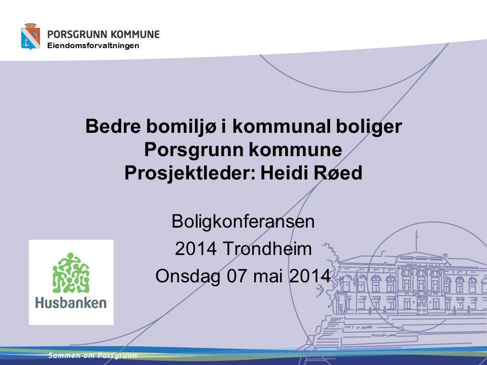 Boligkonferansen 2014 Trondheim Onsdag 07 mai 2014
