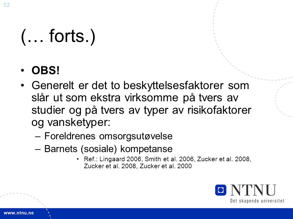 (… forts.) OBS!