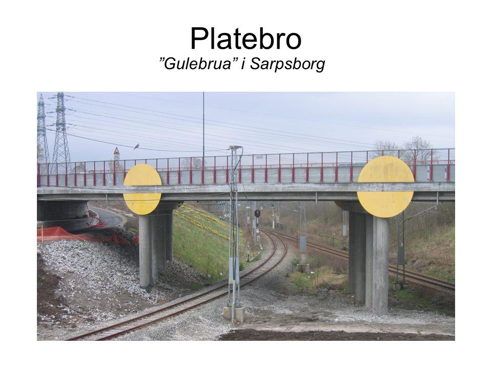 Platebro Gulebrua i Sarpsborg