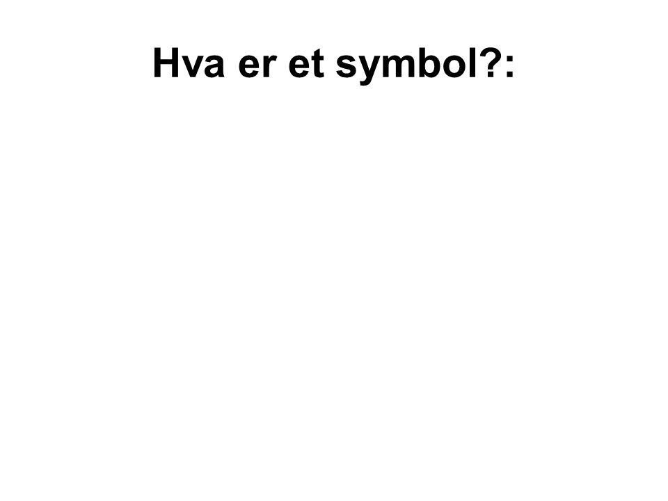 Hva er et symbol :