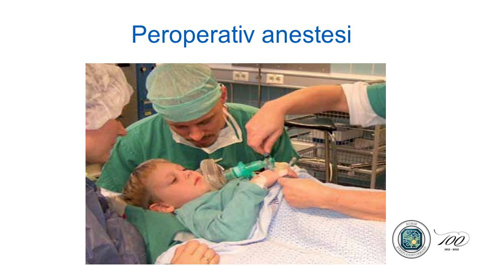 Peroperativ anestesi