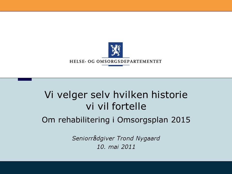 Seniorrådgiver Trond Nygaard 10. mai 2011