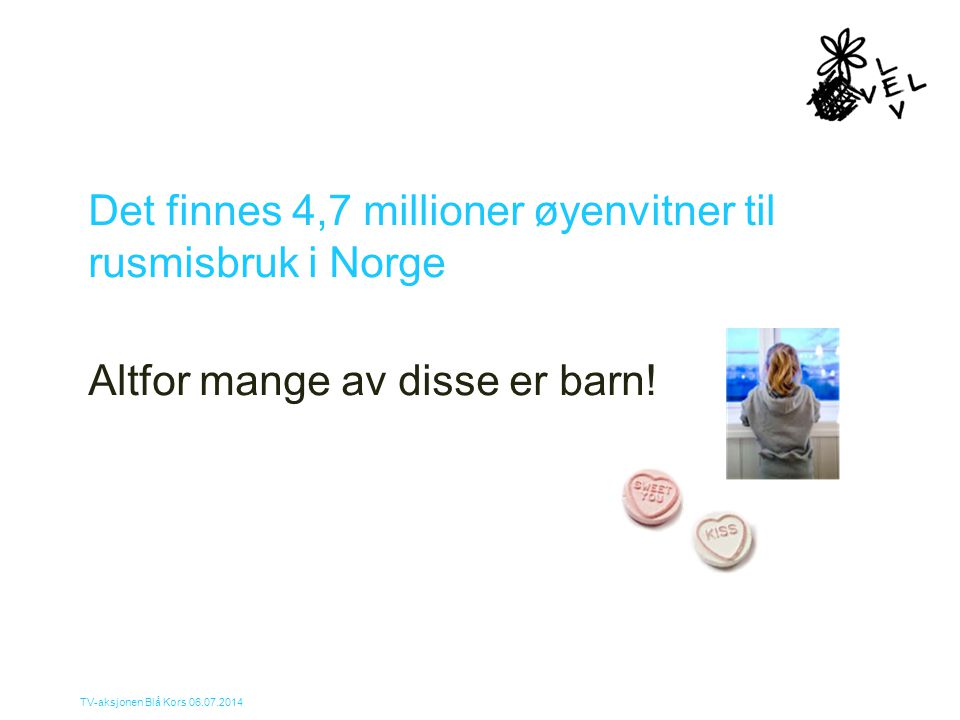 Det finnes 4,7 millioner øyenvitner til rusmisbruk i Norge