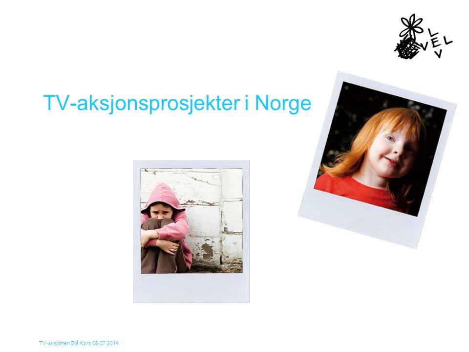 TV-aksjonsprosjekter i Norge