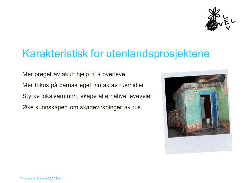 Karakteristisk for utenlandsprosjektene