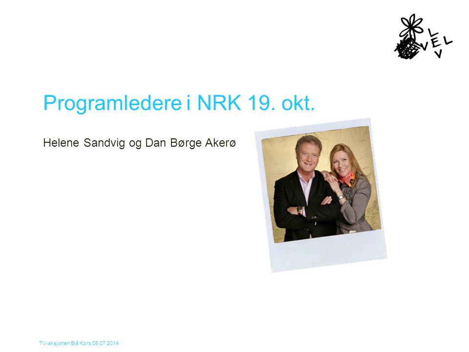 Programledere i NRK 19. okt.