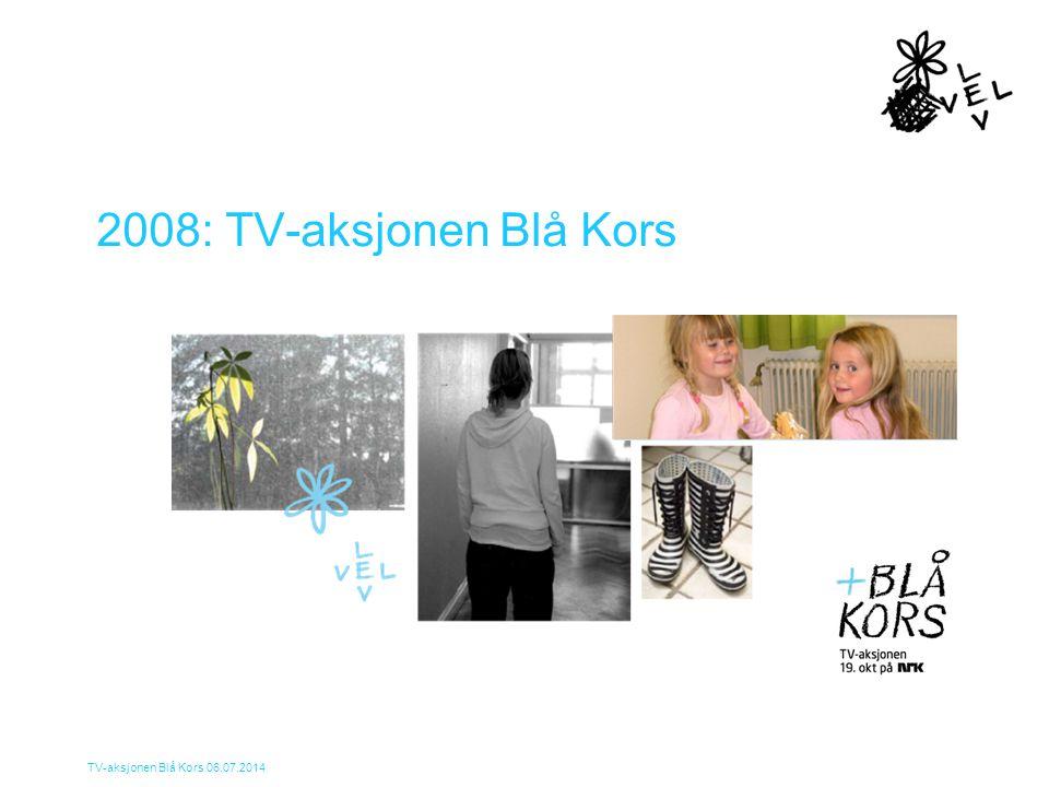 2008: TV-aksjonen Blå Kors