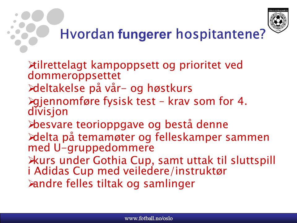Hvordan fungerer hospitantene