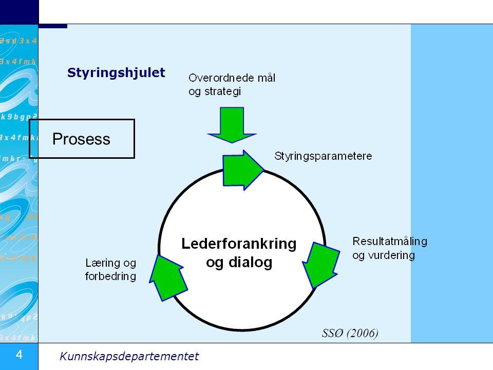 Prosess Styringshjulet SSØ (2006)