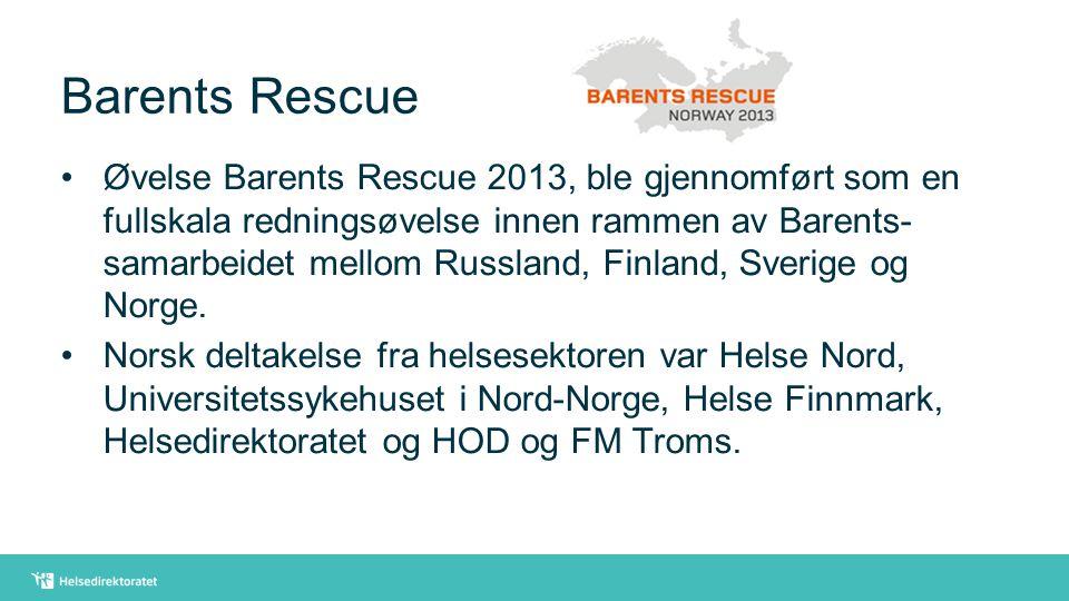 Barents Rescue