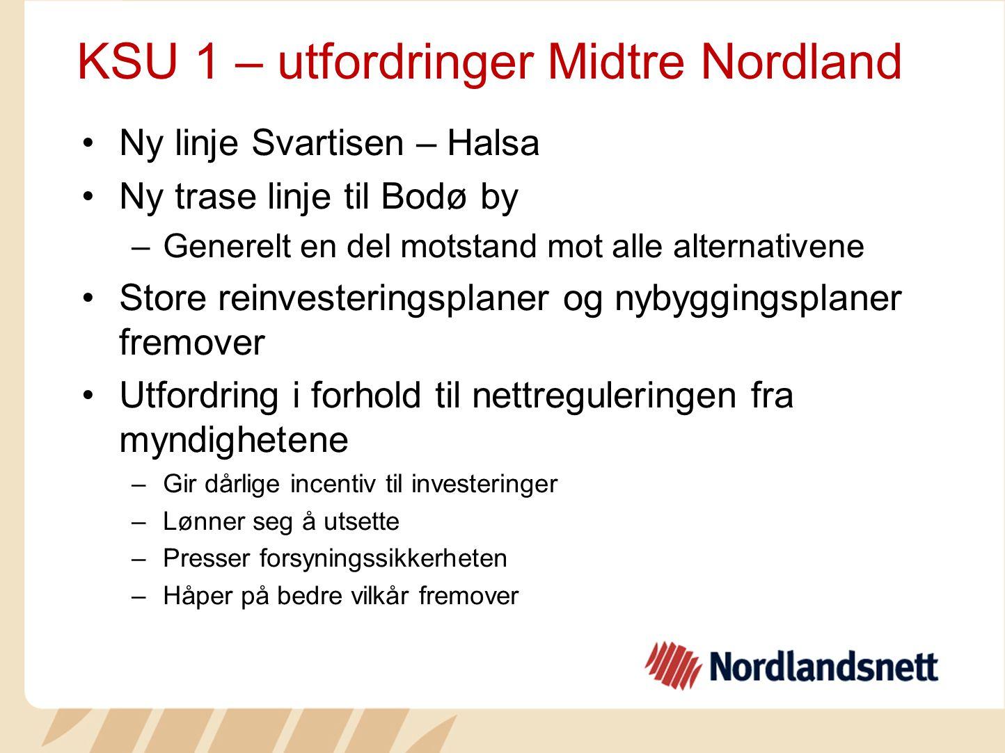 KSU 1 – utfordringer Midtre Nordland
