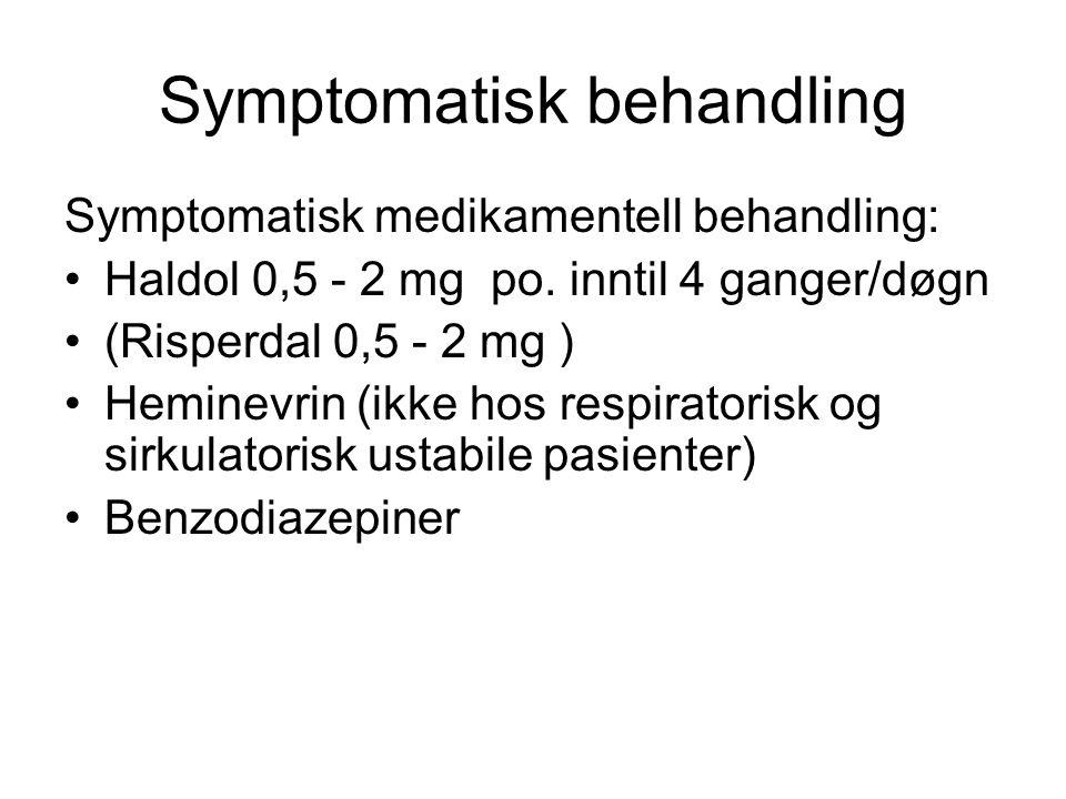 Symptomatisk behandling