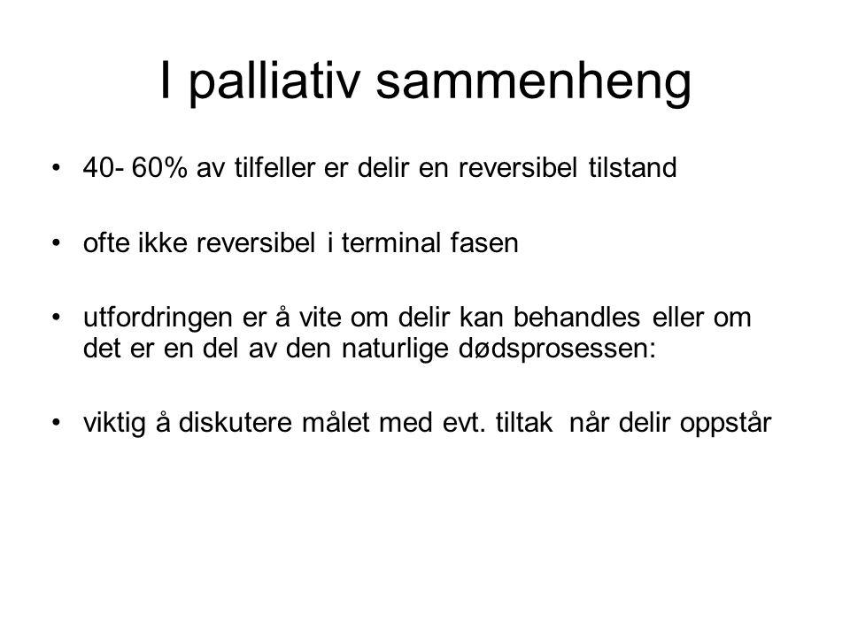 I palliativ sammenheng