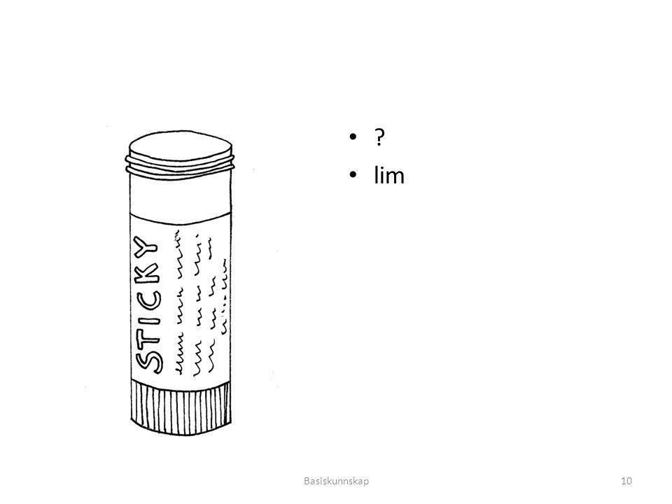 lim Basiskunnskap