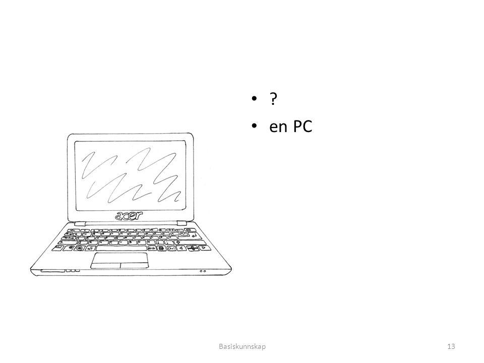 en PC Basiskunnskap