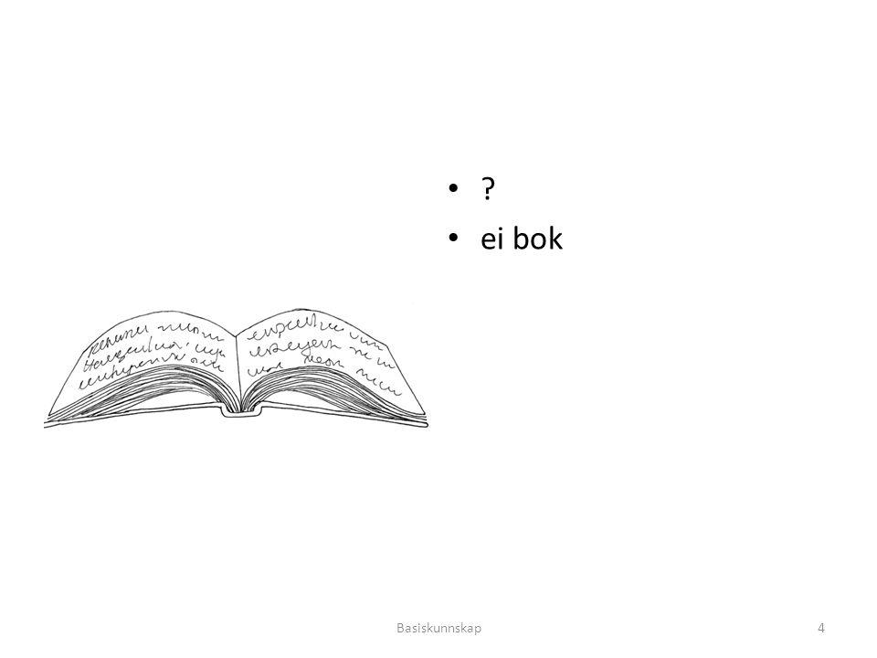 ei bok Basiskunnskap