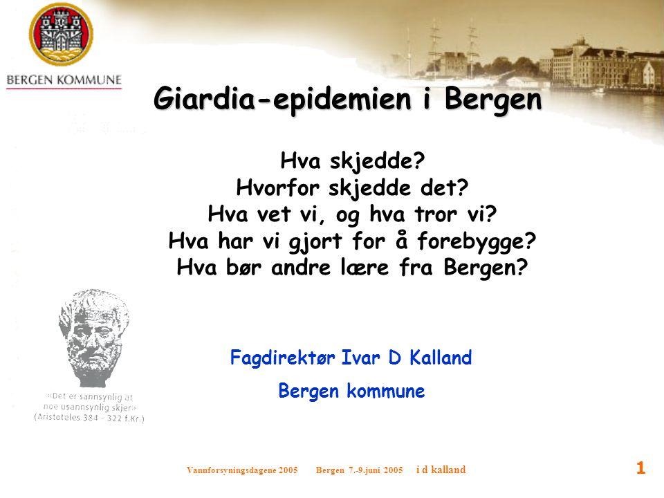 Giardia-epidemien i Bergen