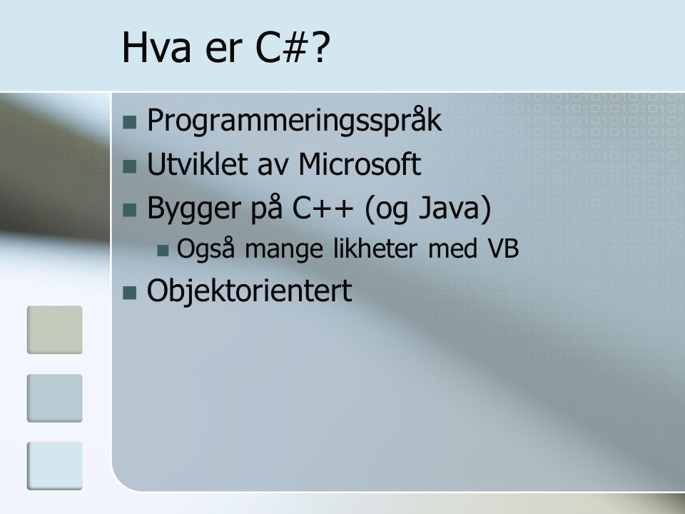 Hva er C# Programmeringsspråk Utviklet av Microsoft