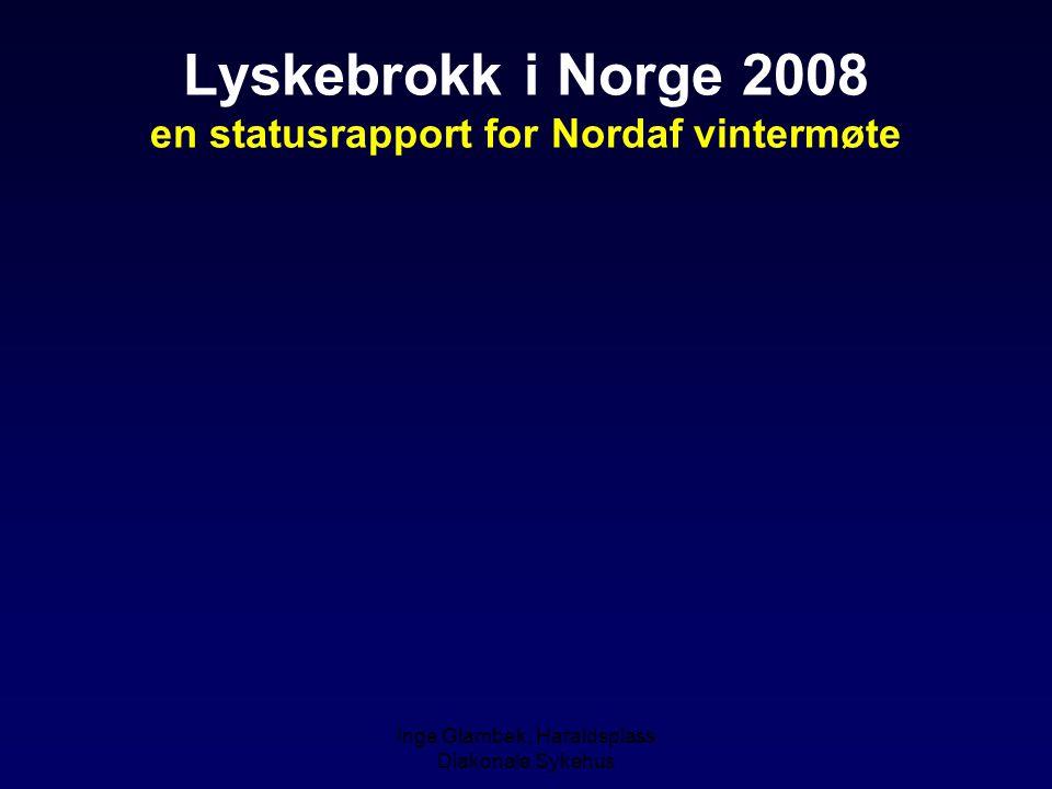 Lyskebrokk i Norge 2008 en statusrapport for Nordaf vintermøte